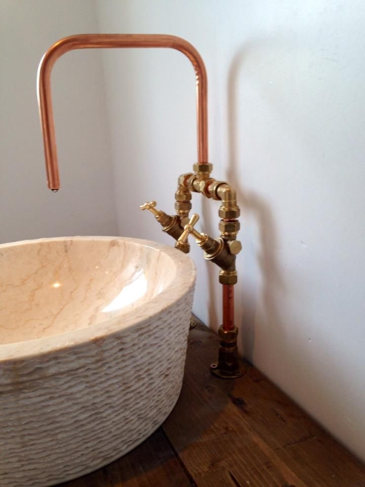 Bespoke Copper And Brass Taps