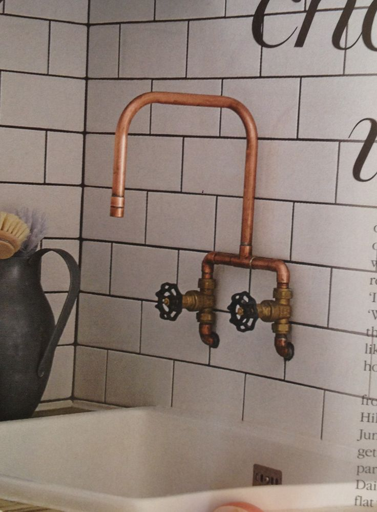 Top Bespoke copper and brass taps CR69