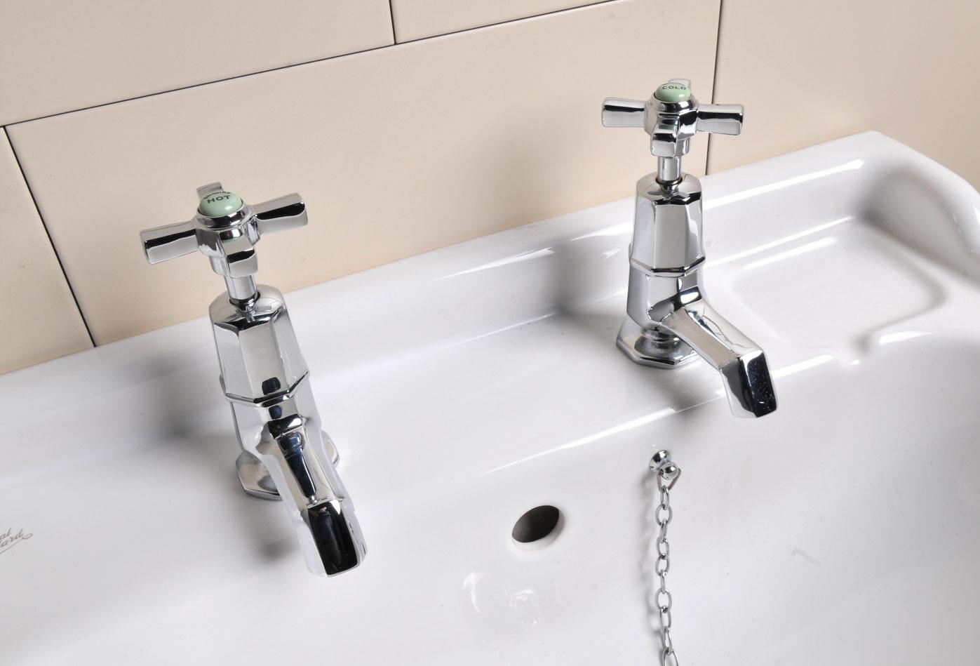 Art Deco Basin Taps Refurbished