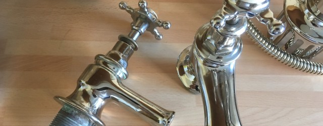 When the Lord of the Castle told us he wanted some work carried out, we weren't sure what to expect. The taps dated from the early 1900′s and various in-house...