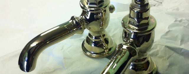 ****  FOR SALE **** These ornate basin taps have been through our workshops, finished in polished brass to give a pleasant colour to embellish any W.C, or bathroom. We...