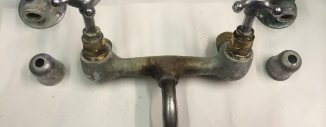 Sometimes, clients can't quite see how we can take something that looks ready for the scrap heap and turn it into a piece of antique tap-ware. It takes a great...